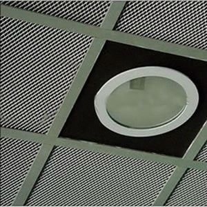 Perforated Metal Mesh Ceiling Grilles Decorative And