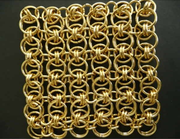 Decorative Metal Ring Mesh - Stainless Steel Ring Mesh - Partition Materials