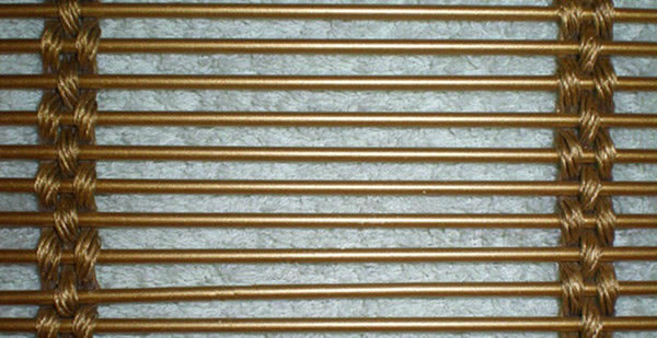 10 2 Wire >> Metal Mesh Partitions – Wire Cable and Rod Composition Fabric for Building Decoration