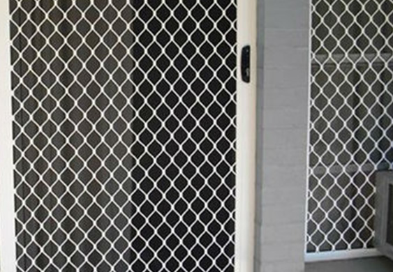 Expanded metal mesh used for architectural decorative material - Decorative wire mesh panels ...