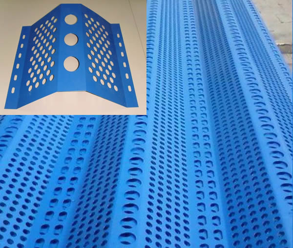 Perforated Sheet Dust Curtains Wind Breaking Net