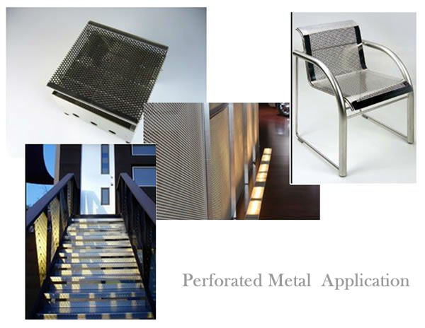Perforated Metal Sheet Decorating Panels